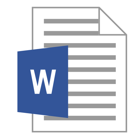 a Word Icon